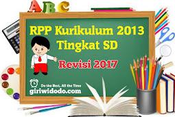 RPP Kurikulum 2013 SD Kelas 2 Semester 2 Revisi 2017