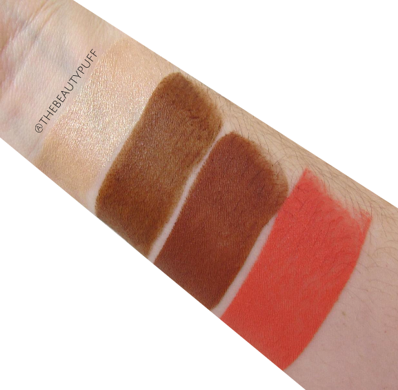 makeup revolution the one swatch - the beauty puff