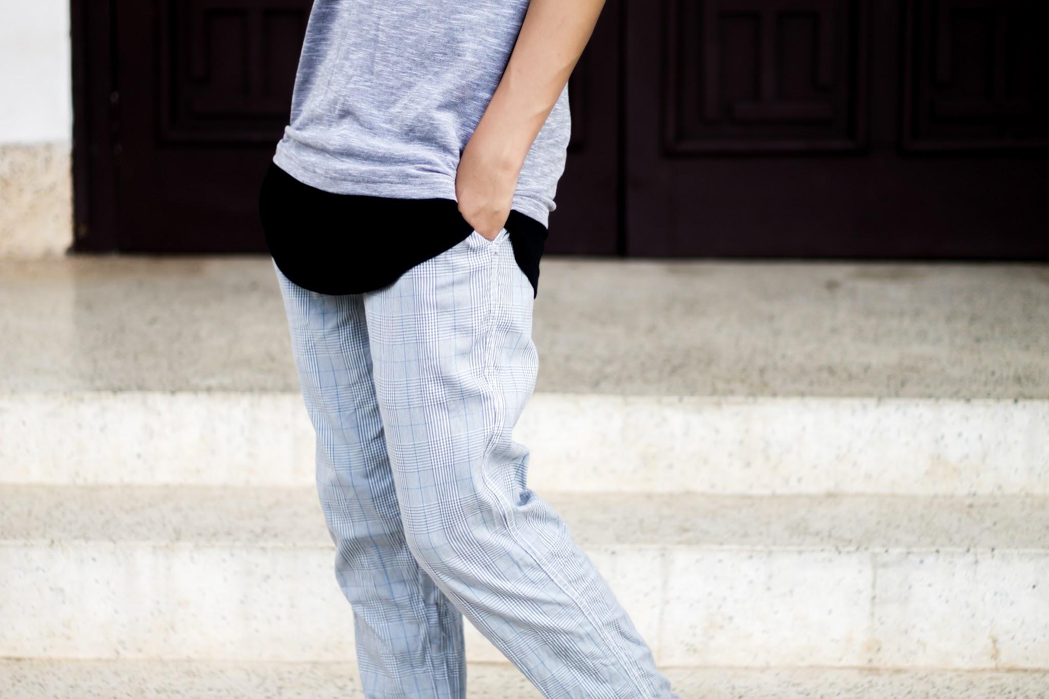 MaxFashion T-shirt, Mr Button for Koovs trouser, Koovs Jacket & boots