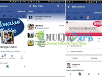 BBM Mod Facebook With FB Chat v3.1.0.13 Apk Android