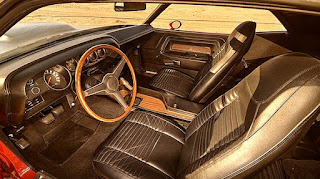 1970 Dodge Challenger TA 340 Six Pack Interior