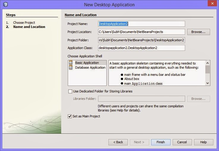 How to Create a Project in NetBeans GUI Builder: Java Programming
