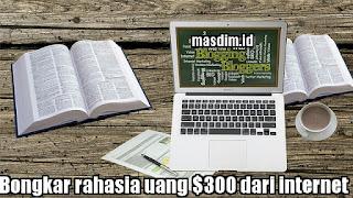 Bongkar Rahasia Cari Uang $300 Dari Internet (Pengalaman Pribadi)