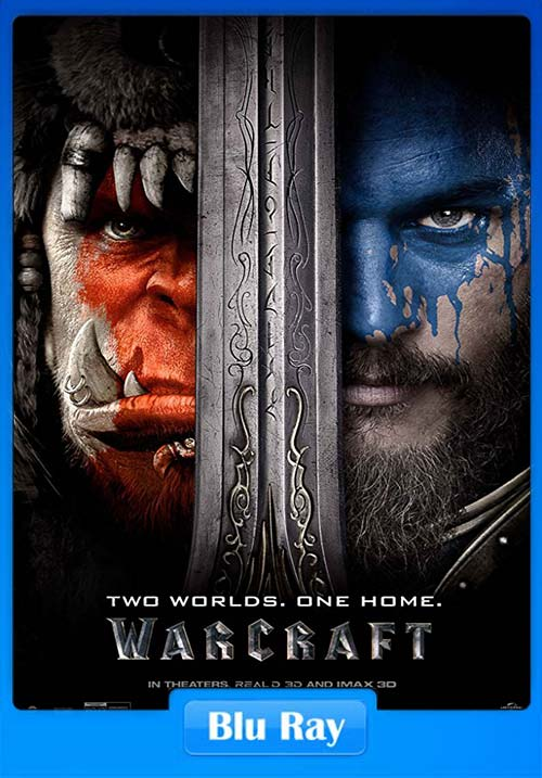 Warcraft (2016) BRRip Dual Audio (Hindi+English) 720p 700MB || 480p 300MB || 100MB HEVC || Download or Watch Online