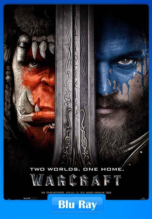Warcraft 2016 BluRay 720p Dual Audio Hindi | 480p 300MB | 100MB HEVC x264 Poster