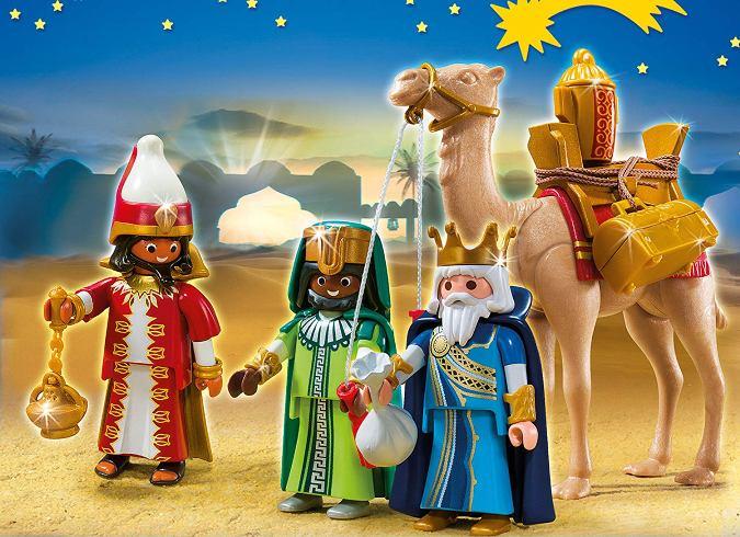 reyes magos de juguete - playmobil christmas