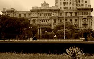 A Grandiosa Construção do Palácio da Justiça, em São Paulo