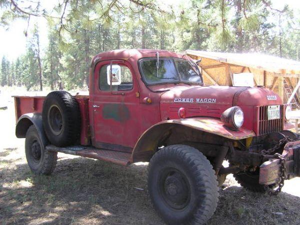 Daily Turismo: 10k: 1950 Dodge Power-Wagon