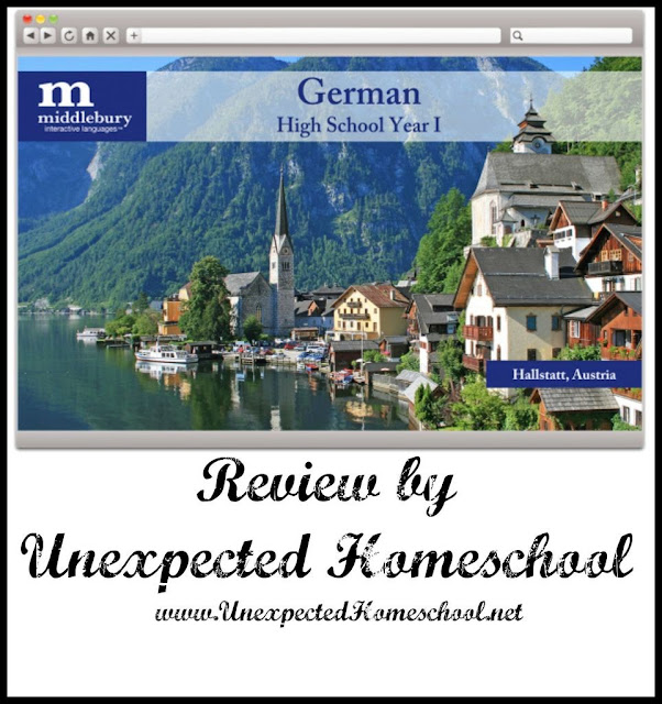 Unexpected Homeschool: High school German from Middlebury Interactive Languages.