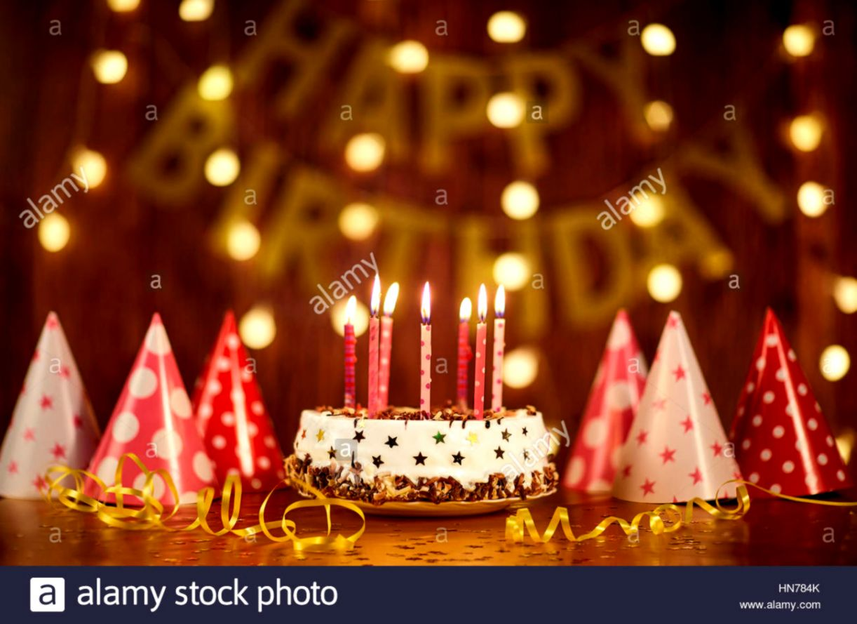 Cake Candles Happy Birthday Hd Wallpaper | Wallpapers Zones