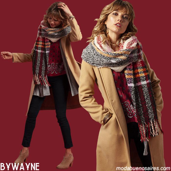 Ropa de mujer otoño invierno 2019. Moda invierno 2019 tapados de paño estilo urbano.