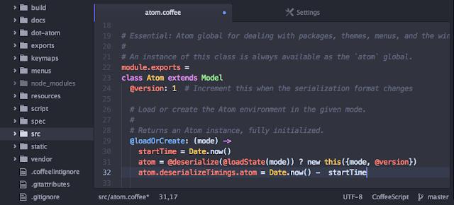 software teks editor,terbaik,programmer,atom