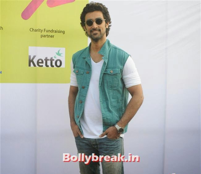 Kunal Kapoor, Pooja Misra at Femina Marathon-Run to Save The Girl Child