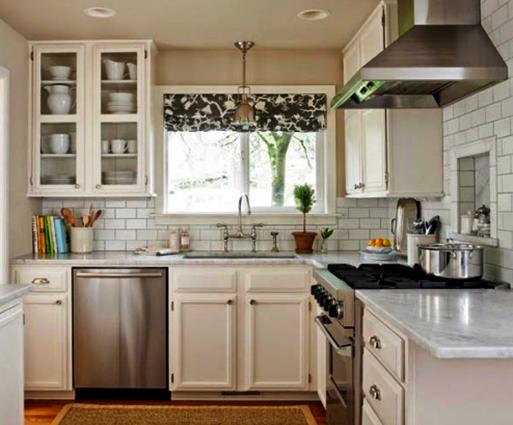 desain ruang dapur minimalis sederhana namun terlihat