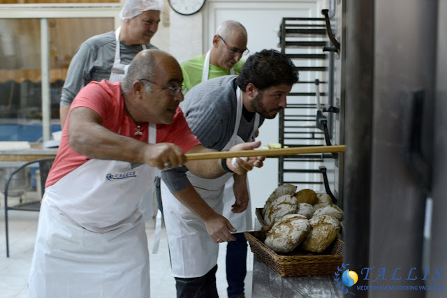 Baking bread with Sotiris Dimitriou Bakery Loutra Oreas Helenis