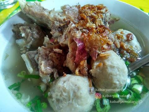 Kuliner Pemalang - Bakso Balungan Kebon Pelem, Maknyus