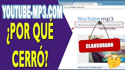 por qué cerro youtube-mp3.com
