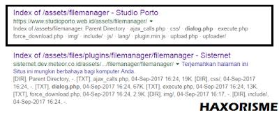 Web Target Deface Metode RFM - Responsive File Manager