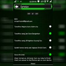 BBM Mod Droid CHAT Thema Green V 2.13.1.13 Apk Clone
