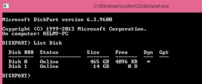 Membuat Bootable Windows dengan CMD