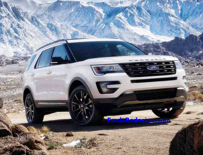 2018 Ford Explorer Redesign Years