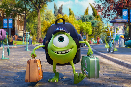 Review Monsters University 2013 Review Luthfi