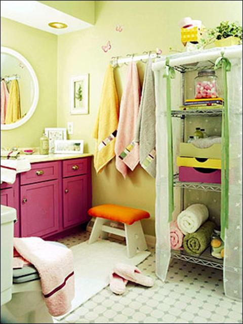 Teenage Girl Small Bathroom Ideas: Key Interiors By Shinay: Teen Girls Bathroom Ideas