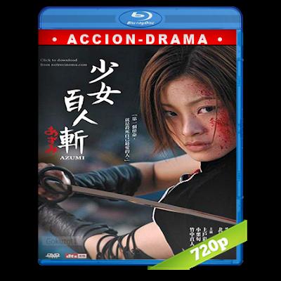 Azumi (2003) BRRip 720p Audio Japones 5.1 Subtitulada