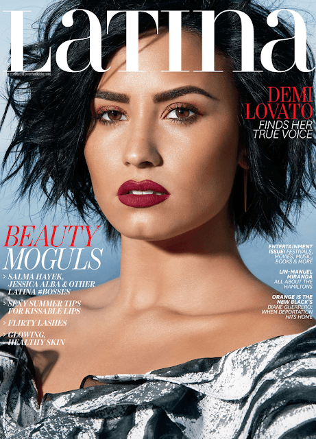 """Demi Lovato es la portada de la revista """"Latina"""""""