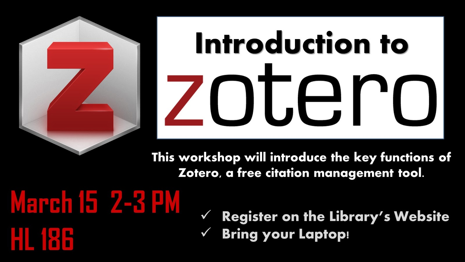With A Single Click, Zotero Saves Citations And Enables You To Create  Customized Hunter Library