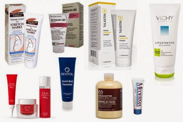 Choosing the best stretch mark cream