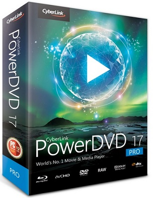 CyberLink PowerDVD Pro 17.0.1523.60 poster box cover