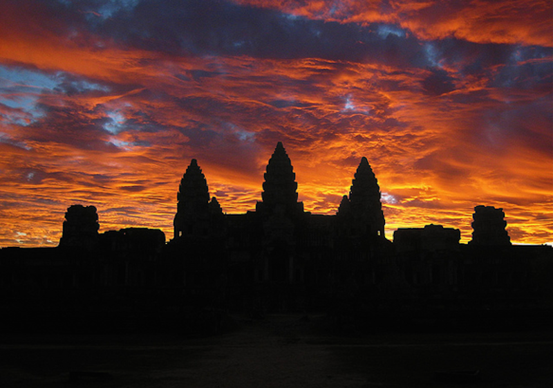 4. Angkor Wat, Cambodia - 20 of The Best Places To Watch The Sunset