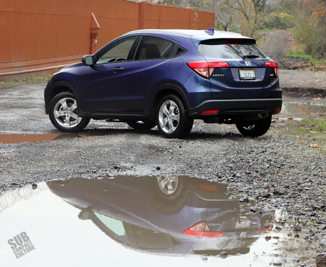 2016 Honda HR-V rear 3/4
