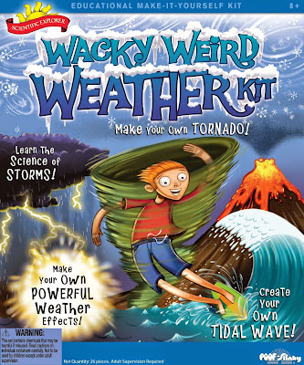 weather science kit for preschool theme
