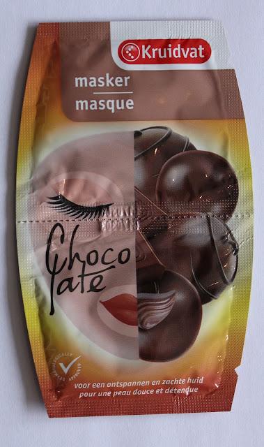 IMG 1310 - Vrijdag Maskerdag: Kruidvat Masker Chocolate