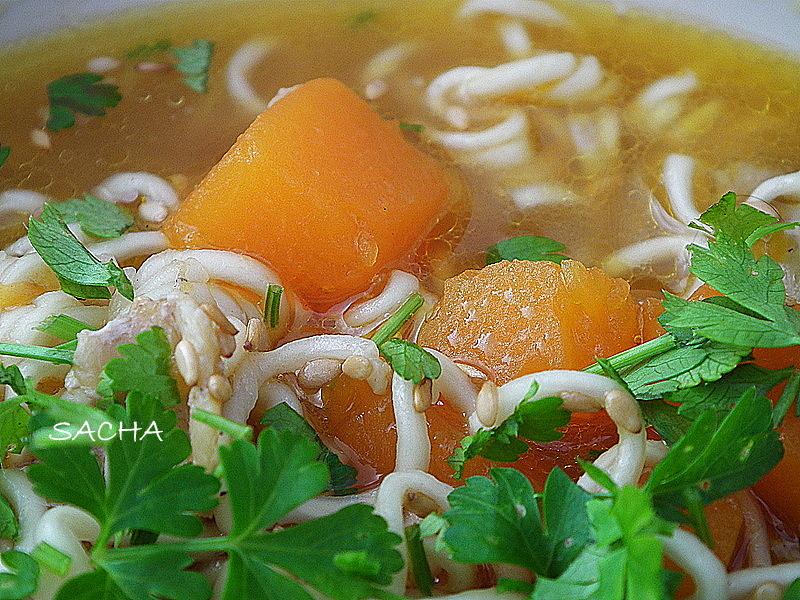 Le journal gourmand de sacha blog principal recettes culinaires soupe japonaise la - Recette soupe japonaise ...
