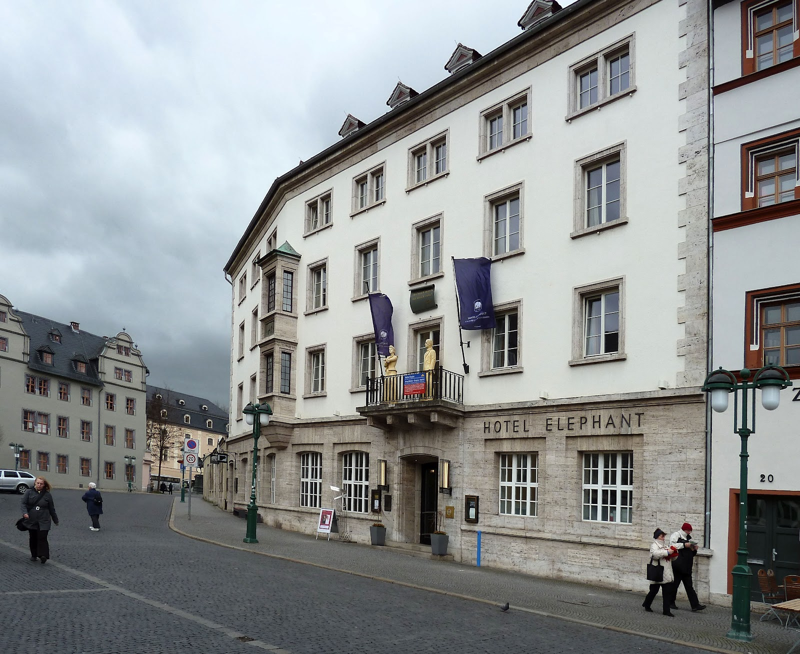 Red Baron's Blog: Weimar's Elephant Hotel  Red Baron's...