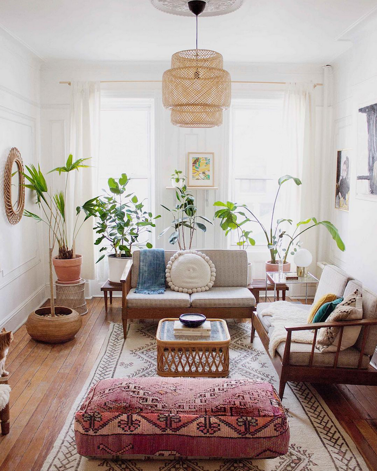 Mid Century Meets Boho In A Brooklyn Home My Scandinavian Home Bloglovin