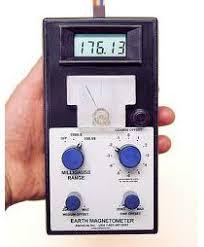 alat pengukur perubahan medan magnet bumi