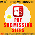 Free High PR Best PDF Submission Sites in 2018