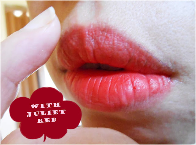Swanicoco Limited Edition the Velvet Lipstick Juliet Red