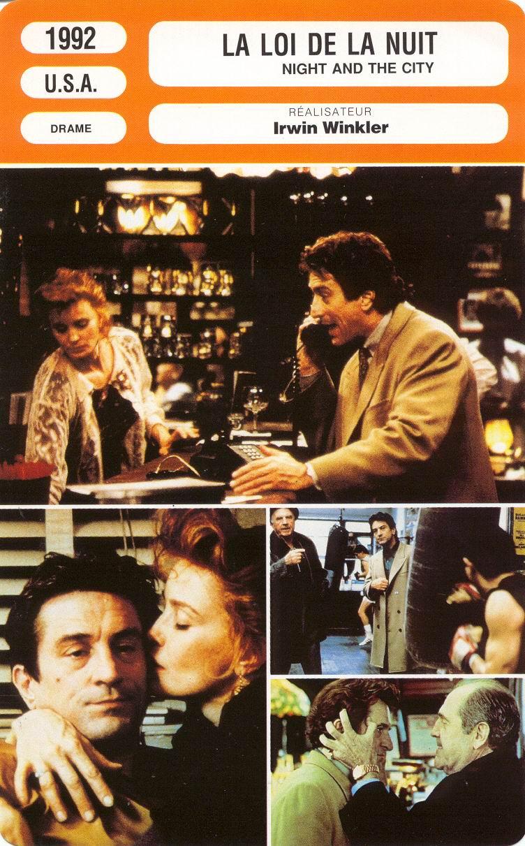 La Loi De La Nuit : Affiches, Photos, D'exploitation, Bandes, Annonces:, (1991), Irwin, Winkler, Night, (04.11.1991, 29.01.1992)
