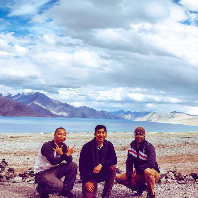 Three Idiots Pangong Lake
