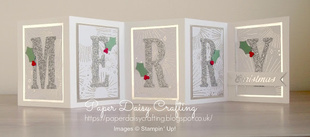 Large letter dies from Stampin' Up!