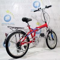 20 united quest carrier folding bike