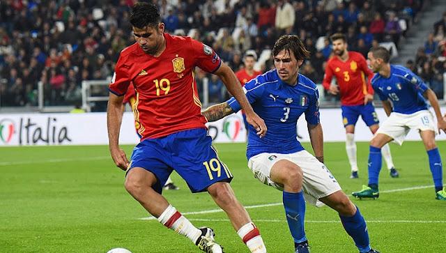 España vs Italia en vivo Eliminatorias mundial 2 setiembre