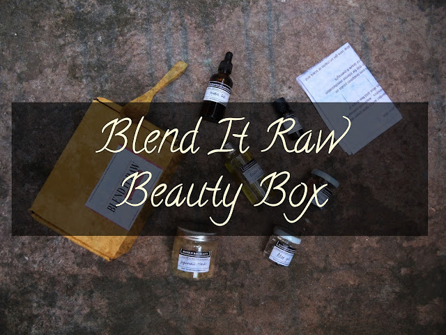 FIRST IMPRESSION: Blend It Raw Beauty Box image