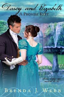 Book Cover: Darcy and Elizabeth A Promise Kept by Brenda Webb