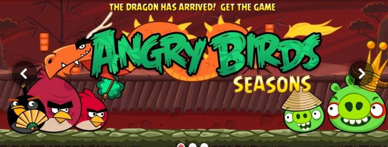 Fase Alfa Angry Birds Seasons Con Mighty Eagle